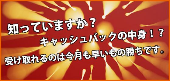 auひかりのキャッシュバックキャンペーンベスト3